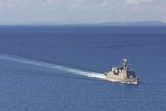 Σκάφος μάχης Στοκ Εικόνες