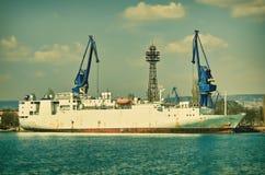 Σκάφος μεταφορέων ζωικού κεφαλαίου Στοκ φωτογραφίες με δικαίωμα ελεύθερης χρήσης