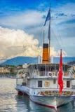 Σκάφος μηχανών ατμού Στοκ Εικόνες