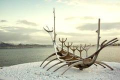 Σκάφος μνημείων Solfar Στοκ Φωτογραφία
