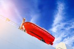 Σκάφος ναυαγοσωστικών λέμβων βοήθειας στοκ φωτογραφίες με δικαίωμα ελεύθερης χρήσης