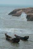 σκάφος νησιών Στοκ Εικόνες