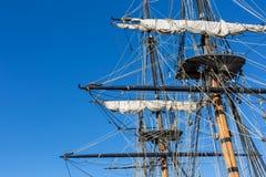 σκάφος ξαρτιών ψηλό Στοκ εικόνα με δικαίωμα ελεύθερης χρήσης