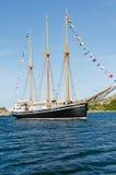 Σκάφος πανιών Westcoast Στοκ φωτογραφίες με δικαίωμα ελεύθερης χρήσης