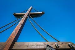 σκάφος πειρατών ιστών Στοκ Εικόνα