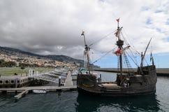 Σκάφος πειρατών στη Μαδέρα Στοκ Εικόνες
