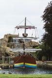 Σκάφος πειρατών στο λούνα παρκ Στοκ εικόνες με δικαίωμα ελεύθερης χρήσης