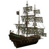 σκάφος πειρατών Στοκ Εικόνες