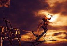 Σκάφος πειρατών Στοκ Φωτογραφίες