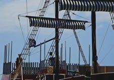 Σκάφος πειρατών Στοκ φωτογραφίες με δικαίωμα ελεύθερης χρήσης