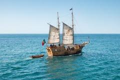 Σκάφος πειρατών Bernarda Santa Στοκ εικόνα με δικαίωμα ελεύθερης χρήσης