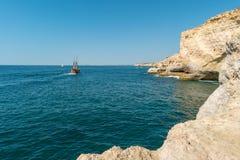 Σκάφος πειρατών Bernarda Santa Στοκ Φωτογραφία