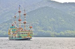 Σκάφος πειρατών Hakone Στοκ Εικόνες