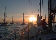 σκάφος πληρωμάτων κυβερνή Στοκ εικόνες με δικαίωμα ελεύθερης χρήσης