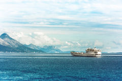 Σκάφος πορθμείων, Κροατία Στοκ φωτογραφία με δικαίωμα ελεύθερης χρήσης