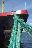 σκάφος που δένεται Στοκ Εικόνες