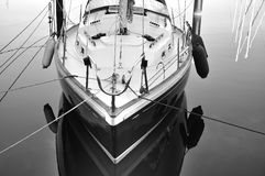 Σκάφος που ελλιμενίζεται Στοκ Εικόνα