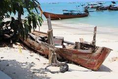 Σκάφος που καταστρέφεται στοκ εικόνες