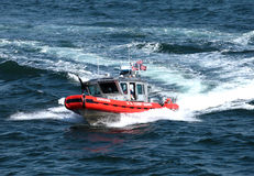 σκάφος πυροβόλων όπλων α&kappa Στοκ Φωτογραφία