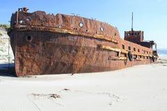 Σκάφος στην ξηρά Στοκ φωτογραφία με δικαίωμα ελεύθερης χρήσης