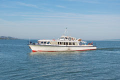 Σκάφος στη λίμνη Balaton Στοκ Φωτογραφίες