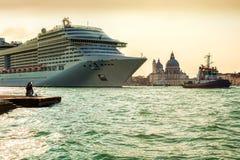 Σκάφος στη Βενετία Στοκ Εικόνες