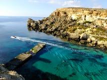 Σκάφος στη Μάλτα στοκ φωτογραφίες με δικαίωμα ελεύθερης χρήσης