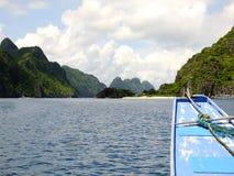 Σκάφος στις Φιλιππίνες στοκ εικόνες με δικαίωμα ελεύθερης χρήσης