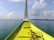 Σκάφος στις Φιλιππίνες στοκ εικόνα με δικαίωμα ελεύθερης χρήσης