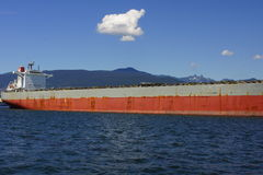 Σκάφος στο λιμάνι του Βανκούβερ Στοκ Εικόνες