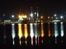 Σκάφος στο λιμάνι Στοκ Φωτογραφίες