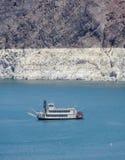 Σκάφος στο υδρόμελι λιμνών Στοκ Φωτογραφία