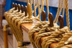 σκάφος σχοινιών Στοκ Φωτογραφία