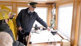 Σκάφος σύστημα καπετάνιου Explanation Sailors ναυσιπλοΐα φιλμ μικρού μήκους