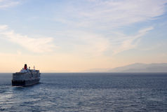 Σκάφος της γραμμής βασίλισσας Elizabeth Στοκ Εικόνες
