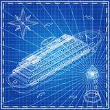 Σκάφος της γραμμής κρουαζιέρας Στοκ Φωτογραφία