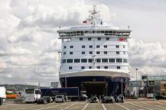 σκάφος της γραμμής Στοκ Εικόνα