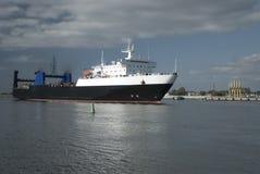 σκάφος της λιμενικής klaip Λ&iot στοκ εικόνα