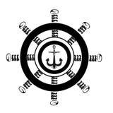 Σκάφος τιμονιών απεικόνιση αποθεμάτων