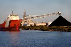 σκάφος του Ντητρόιτ άνθρακ Στοκ Εικόνες
