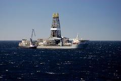 σκάφος τρυπανιών 2 Στοκ εικόνες με δικαίωμα ελεύθερης χρήσης