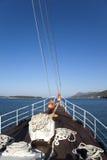 σκάφος τόξων Στοκ φωτογραφία με δικαίωμα ελεύθερης χρήσης
