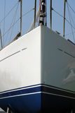 σκάφος τόξων Στοκ εικόνα με δικαίωμα ελεύθερης χρήσης