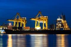 Σκάφος φορτίου φορτίου Στοκ φωτογραφίες με δικαίωμα ελεύθερης χρήσης