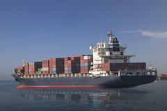 Σκάφος φορτίου φορτίου Contrainer Στοκ εικόνα με δικαίωμα ελεύθερης χρήσης