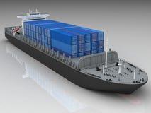 σκάφος φορτίου απεικόνιση αποθεμάτων