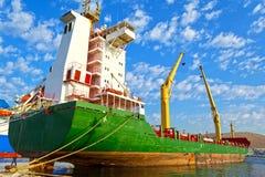 Σκάφος φορτίου Στοκ εικόνες με δικαίωμα ελεύθερης χρήσης