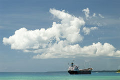 σκάφος φορτίου στοκ εικόνα