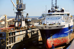 σκάφος φορτίου Στοκ εικόνα με δικαίωμα ελεύθερης χρήσης