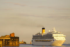 σκάφος φρουρίων Στοκ εικόνα με δικαίωμα ελεύθερης χρήσης